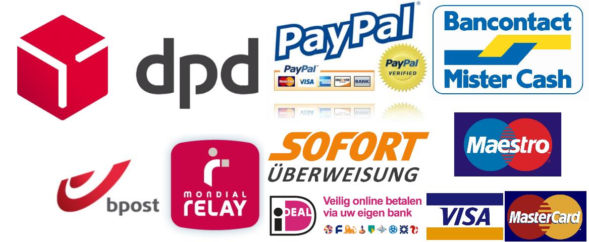 shipment payment logos