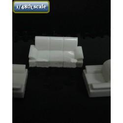 Sofa set (3 pieces)