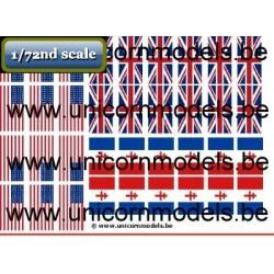 WO 2 Geallieerde vlaggen