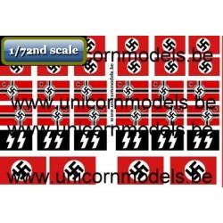 WO 2 Duitse vlaggen