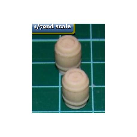 2 small barrels