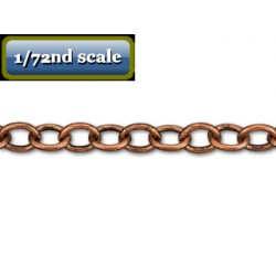 cable chain antique copper