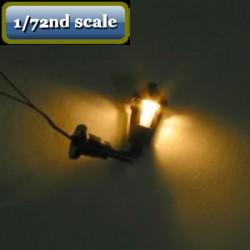 Wandlamp werkend