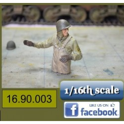 WO 2 Amerikaanse Tank Officier