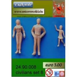 Truck figures set 8