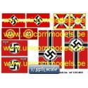 WW II Nazi flags (set 1)