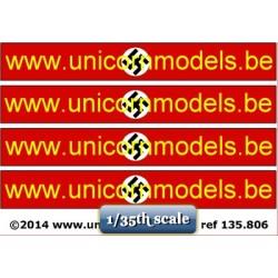 WO 2 Nazi swastika banner