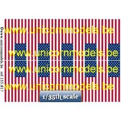 US 50 sterren vlaggen