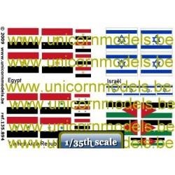 6 daagse oorlog vlaggen