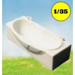 Bubble bath rectangular