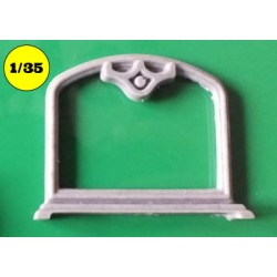 Mirror frame for 35.03.009