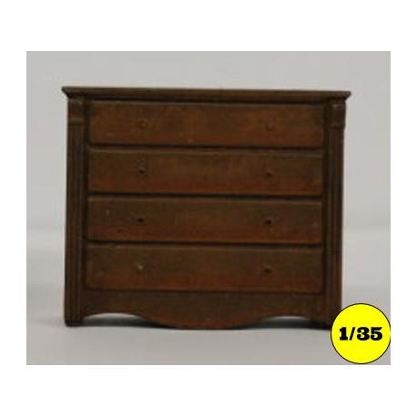 Dressoir 4 large drawers