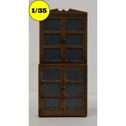 vitrinekast 4 deuren