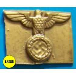 Reichsadler op plakkaat