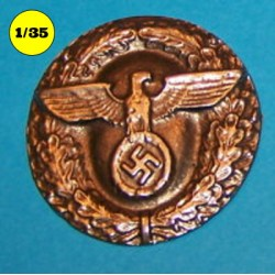 Nazi wall plaque round
