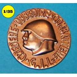 wall plaque Mussolini