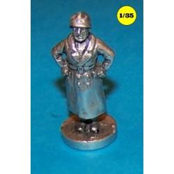 small statue Mussolini