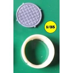 Round drainhole + cover