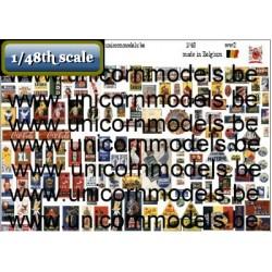 Belgische Emaille reclameborden