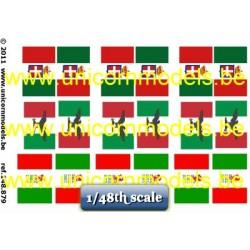 WO 2 Italiaanse vlaggen