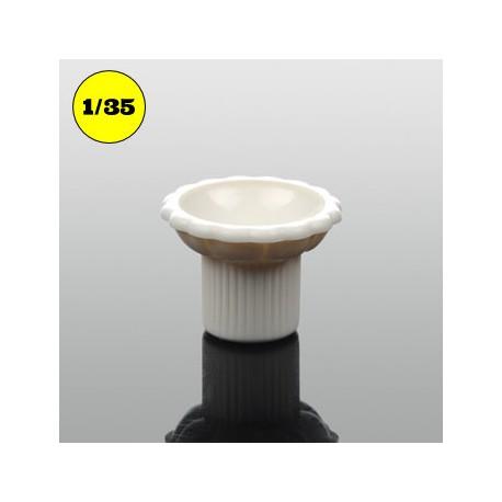 flower pot column