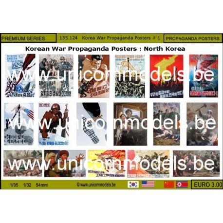 Korea war propaganda posters 1 : North Korea