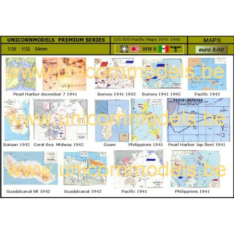 Kaarten Pacific 1941-1942