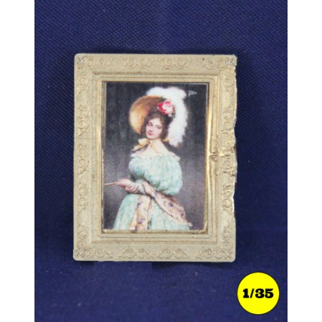 """picture frame 25 x 31 mm """"straight"""""""
