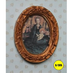 "picture frame 31 x 26 mm ""oval"""