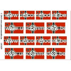 Kriegsmarine flags small