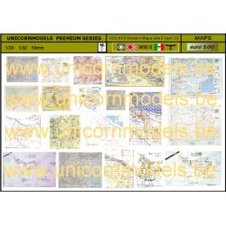 Desert war maps (set 2)