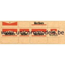 Marlboro. 4 cardboard boxes