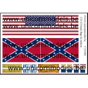 US flags for trucks + stickers