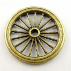 Cart wheel brass