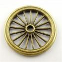 Cart wheel brass
