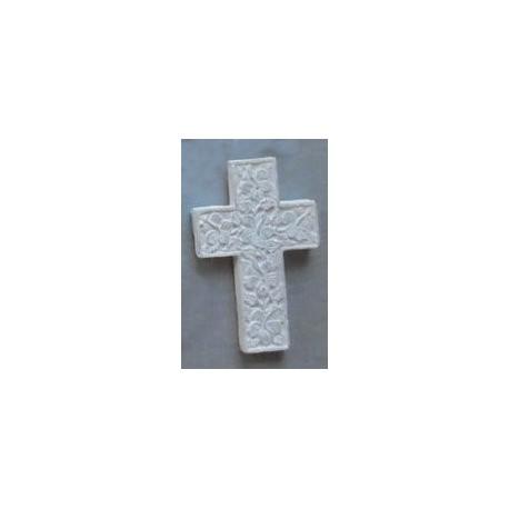 latijns kruisbeeld met bloemen