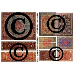 tapijten op stof set 2