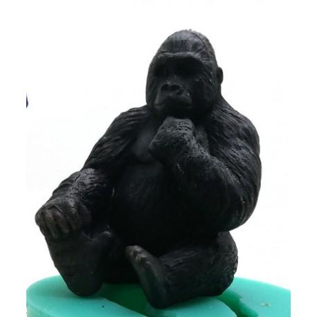 Gorilla seated