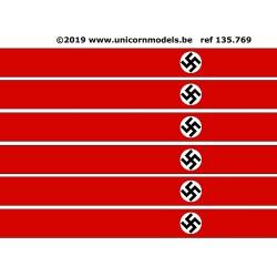 WW II Nazi Swastika XXL banner