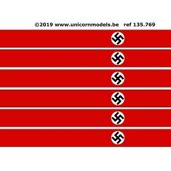 WO 2 Nazi swastika XXL banner