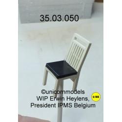 Classic chair 9, vertical stripes