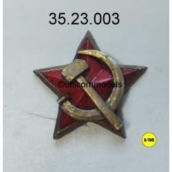 Russian star, hammer & sickle
