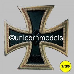Iron cross wall plaque