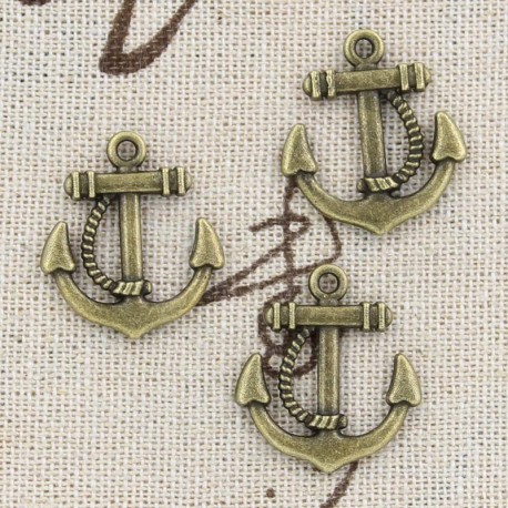 Anchor 18 x 27 mm, with rope
