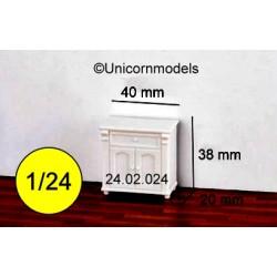 Commode 2 doors