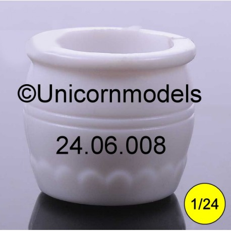 flower pot round 20 mm