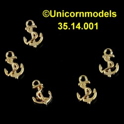 Anchor 10 x 6 mm with rope