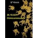 Spider 6 x 4 mm