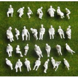 figurines burgers zittend