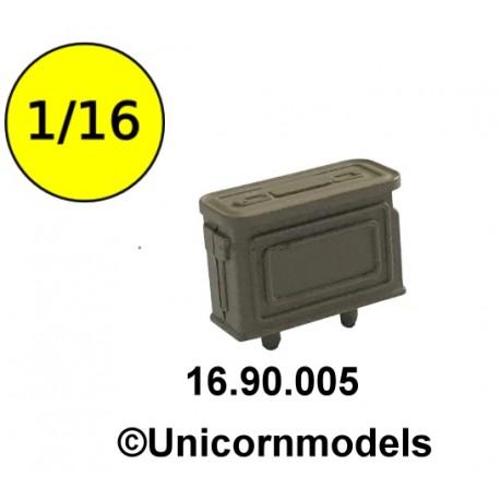 WW II US ammobox